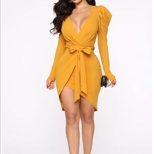 OWNING THIS MOMENT MINI DRESS